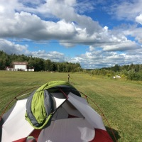 Day 70 - Edmundston to Springwater Campground, Four Falls